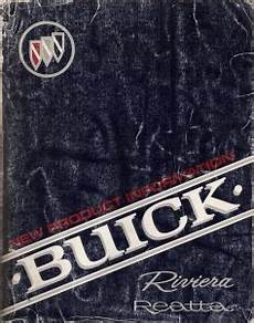 online car repair manuals free 1990 buick riviera engine control 1990 buick riviera and reatta factory service manual new product information