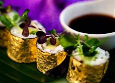 Gold Trend Food Design 10 Exclusive Food Decoration Ideas