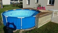 habillage piscine autoport 233 intex piscines plages