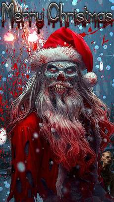 zombie christmas wallpaper by blacklightning388 60 free zedge