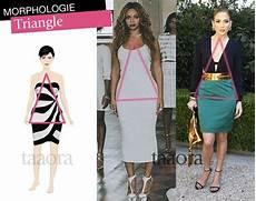 morphologie triangle comment s habiller morphologie
