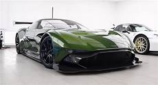 detailing and paint protecting an aston martin vulcan requires the utmost of care carscoops