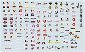 Plastic Model Vehicle Decals