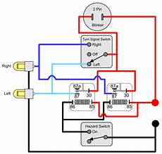 wiring diagram of car signal light installing turn signals electricscooterparts com support