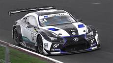 lexus rcf gt3 lexus rc f gt3 sound in on track accelerations fly bys