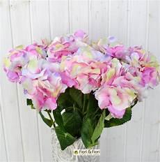 fiore artificiale ortensia rosa in materiale di qualit 224