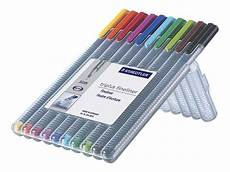 staedtler triplus fineliner pen 0 3mm assorted