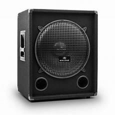 subwoofer auf rechnung malone passiver pa subwoofer 38cm 500w rms 1000w max