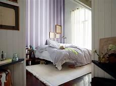 Lavender Colored Strips As Wall Decor Interior Design