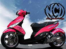 Striping Mio Sporty Keren by Yamaha Mio J Si Imut Yang Juga Mudah Di Modifikasi