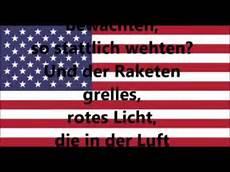 nationalhymne usa deutsche 220 bersetzung