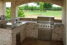 Outdoor Kitchen Brick outdoor kitchen ideas and how to site it right traba homes