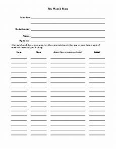 fillable online academicdepartments musc fire watch form academicdepartments musc fax email