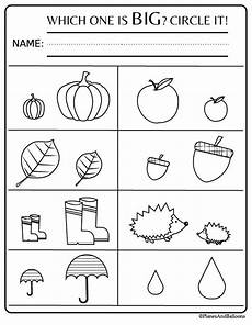 preschool worksheets free 18349 preschool worksheets and activities for fall free printable pdf fall preschool activities