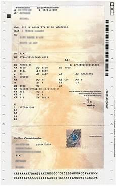 Carte Grise Comment D 233 Chiffrer Le Certificat D