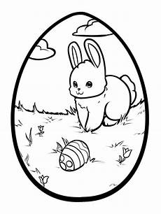 easter bunny coloring pages free printable easter bunny