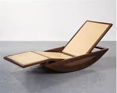 chaise rocking chair 1947 chaise lounge rocking chair by joaquim tenreiro