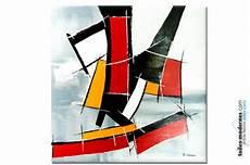 tableau geometrique moderne grand tableau abstraction g 233 om 233 trique nouvelle attitude