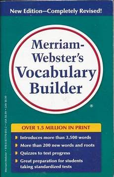 libreria webster vocabulary builder merriam websters merriam webster inc