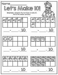 free let s make 10 addition worksheet teacher ideas kindergarten math math worksheets