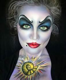fasching karneval gruselig hexe schminken idee airbrush