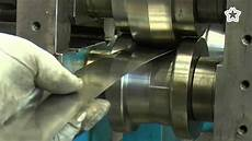 roll formed steel roll forming youtube