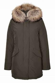 lyst woolrich womens luxury arctic parka with fur trim