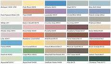 disney paint color names behr paints chip color swatch sle and palette raylan room