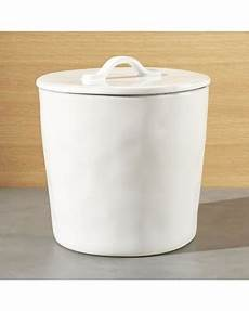 white ceramic kitchen canisters tis the season for savings on marin large white ceramic