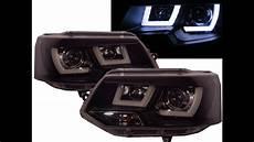 Transporter T5 2011 2015 3d Led Bar Stripe Drl Projector