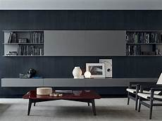 Tv Wand Kaufen - modular wooden tv wall system skip by poliform design