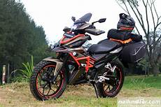 Supra Gtr 150 Modif Touring grand touring adventure konsep modifikasi gahar honda