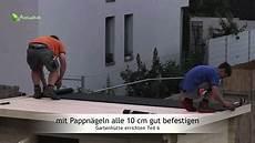 dachpappe und gartenh 252 tte bauen in 6 schritten teil 6 t 252 ren und