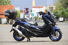 Modifikasi Nmax Abu Abu 2018 by Modifikasi Yamaha Nmax Blueskie Doyan Turing Otoinfo Id