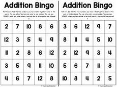 addition bingo worksheets 8794 dice addition and subtraction bingo cards math made series