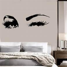 Beautiful Big Eye Lashes Wink Decor Wall Mural