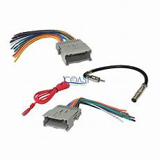 Gm Car Radio Stereo Wiring Harness Antenna Combo For 1992