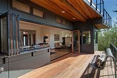 open wall kitchen and deck contemporary patio seattle jacobson construction inc