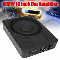 10 quot 600w car active subwoofer speaker audio lifier