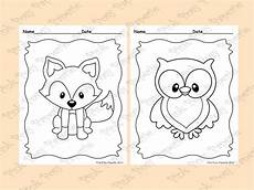 baby woodland animals coloring pages 17514 woodland forest animals coloring pages 8 designs fox included animal coloring pages