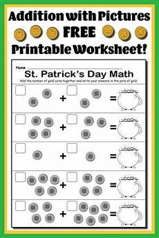 addition worksheets using pictures 9077 st s day i printable st s day counting worksheet math math addition