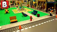 how to build sidewalks for a lego city timelapse youtube