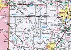 map of indiana and ohio counties and travel information download free map of indiana and ohio