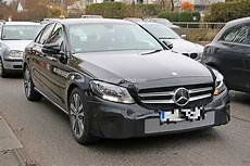 2018 Mercedes C Class Facelift Shows Interior For The