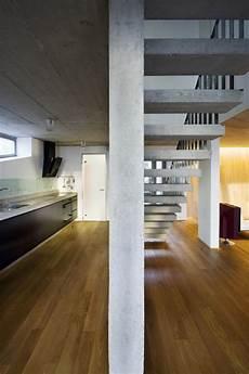 A House Pillars Hungary Allhitecture