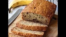 banana bread recipe chocolate banana nut loaf youtube