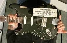 Kurt Cobain S Guitars Now Vandalism Stratocaster