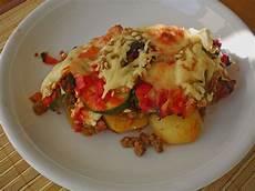 Hackfleisch Kartoffel Auflauf - mediterraner kartoffel hackfleisch auflauf chefkoch de