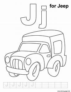 s282e alphabet j for jeepa9c0 coloring pages printable