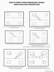 the helpful art teacher fun with one point perspective boxes and other geometric forms fifth